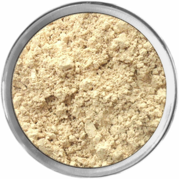 Olive Light Mineral Foundation Loose Mineral Foundation M*A*D Minerals Makeup