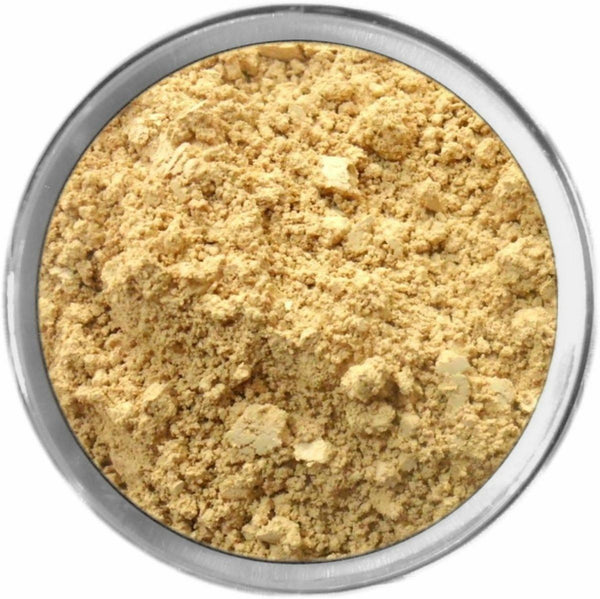 Olive Medium Mineral Foundation Loose Mineral Foundation M*A*D Minerals Makeup