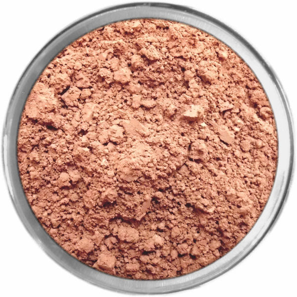 Rosy Dark Tan Mineral Foundation Loose Mineral Foundation M*A*D Minerals Makeup