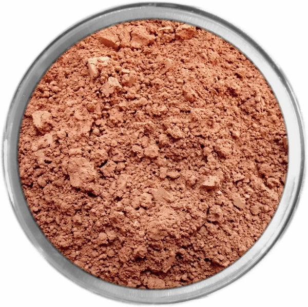 Rosy Dark Mineral Foundation Loose Mineral Foundation M*A*D Minerals Makeup