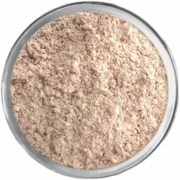 Rosy Light Medium Mineral Foundation Loose Mineral Foundation M*A*D Minerals Makeup