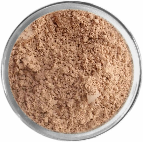 Rosy Medium Tan Mineral Foundation Loose Mineral Foundation M*A*D Minerals Makeup