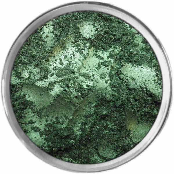 DEEP EMERALD Multi-Use Loose Mineral Powder Pigment Color Loose Mineral Multi-Use Colors M*A*D Minerals Makeup
