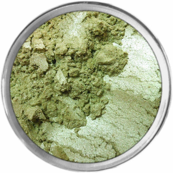 LIME Multi-Use Loose Mineral Powder Pigment Color Loose Mineral Multi-Use Colors M*A*D Minerals Makeup