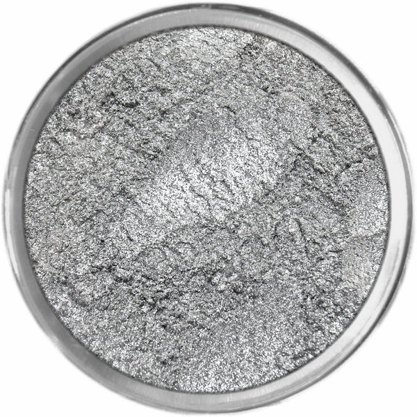 STERLING SILVER Multi-Use Loose Mineral Powder Pigment Color Loose Mineral Multi-Use Colors M*A*D Minerals Makeup