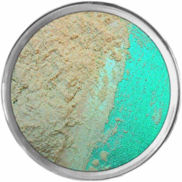 WHISPER GREEN Multi-Use Loose Mineral Powder Pigment Color Loose Mineral Multi-Use Colors M*A*D Minerals Makeup