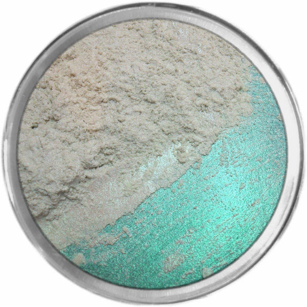 WHISPER MINT Multi-Use Loose Mineral Powder Pigment Color Loose Mineral Multi-Use Colors M*A*D Minerals Makeup