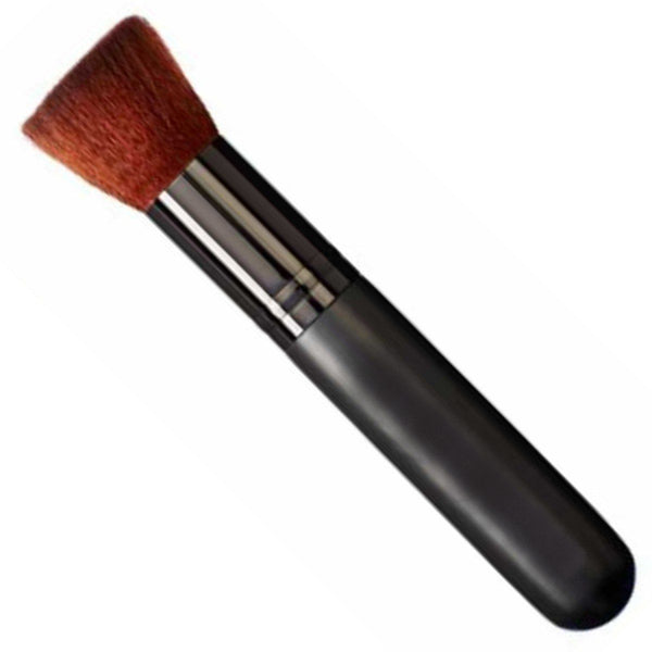 Jumbo Flat Top Face Brush 100% Synthetic Cruelty Free & Vegan VEGAN MAKEUP BRUSH M*A*D Minerals Makeup