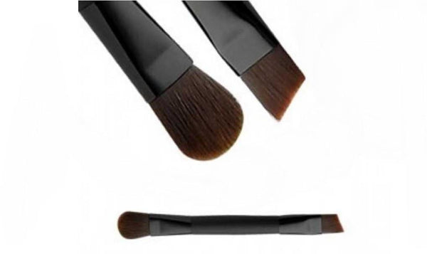 "Dual Ended Mini Eye Brush ""Must Have Vegan Cutie"" For Mineral Makeup Eye Lip liner/Shadow Concealer VEGAN MAKEUP BRUSH M*A*D Minerals Makeup"