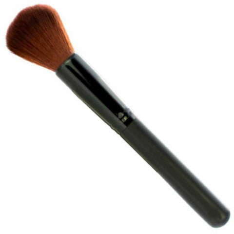 Small Rounded Face Makeup Brush 100% Synthetic Cruelty Free & Vegan VEGAN MAKEUP BRUSH M*A*D Minerals Makeup