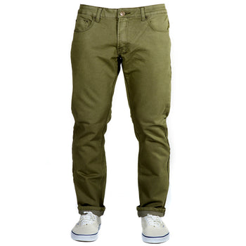 Olive Green Kush Denim - Adventure Fit