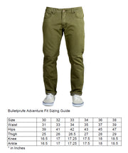 Olive Green Denim - Adventure Fit