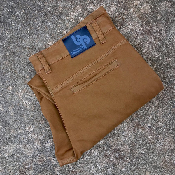Almond Chinos - Slim Fit