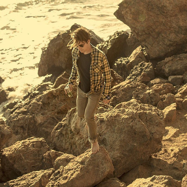 Tobacco Brown Chinos - Adventure Fit