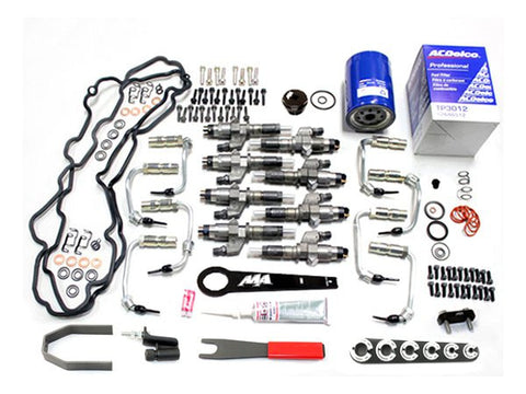 01-04 Duramax LB7 Deluxe Injector Package 15% Over