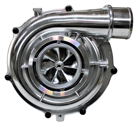 04-07 Duramax LLY LBZ KBDP 63.5mm Front Cover Kit with Billet Wheel