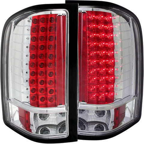 07-14 Chevy Silverado Anzo Chrome led Taillights
