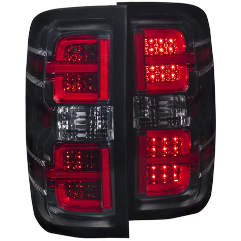 07-14 Chevy Silverado Anzo Smoke G2 led Taillights