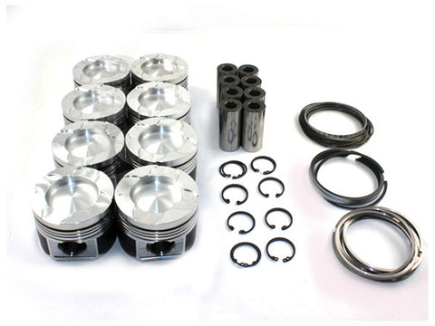 Duramax LB7 Mahle Piston Kit, .020