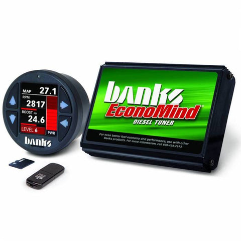 07-10 Duramax LMM Banks EconoMind Tuner with I Dash Display 50 State Legal