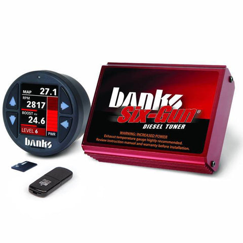 01-04 Duramax LB7 Banks Six Gun Tuner with IDash 1.8 50 State Legal