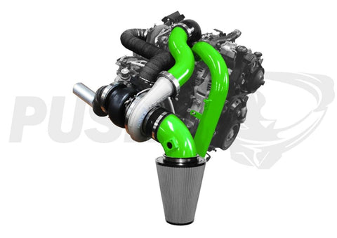 07-10 Duramax LMM Pusher Intakes Compound Turbo Kit