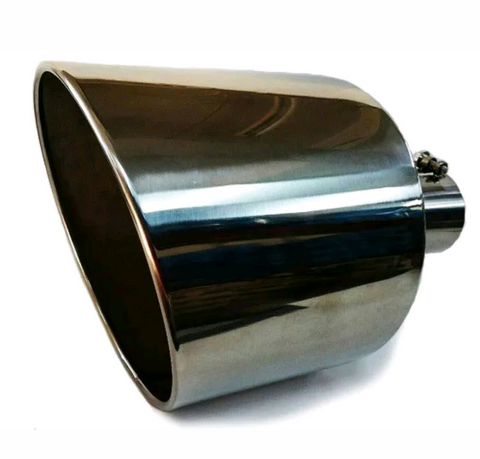 "4"" to 10"" Exhaust Tip 18"" long T-304"