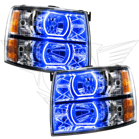 07-13 Silverado Oracle Pre-assembled Headlights