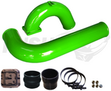 "03-07 Cummins Pusher Intakes 3.5"" MEGA Intake System Green"