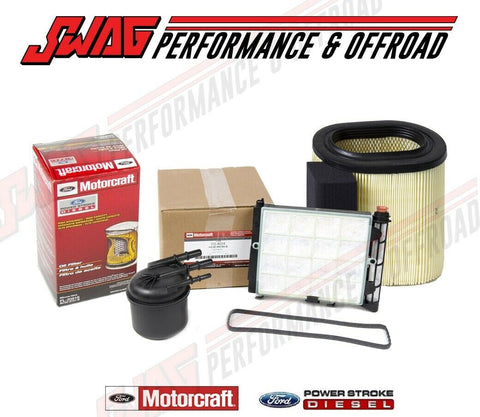 17-19 Powerstroke 6.7 Motorcraft OEM Fuel & Oil & Air Filter Package