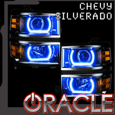 14-15 Silverado Oracle ColorShift 2.0 Halo Rings Projector