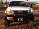 03-06 GMC Sierra 2500, 3500 Iron Cross Base Front Bumper w Bull Bar