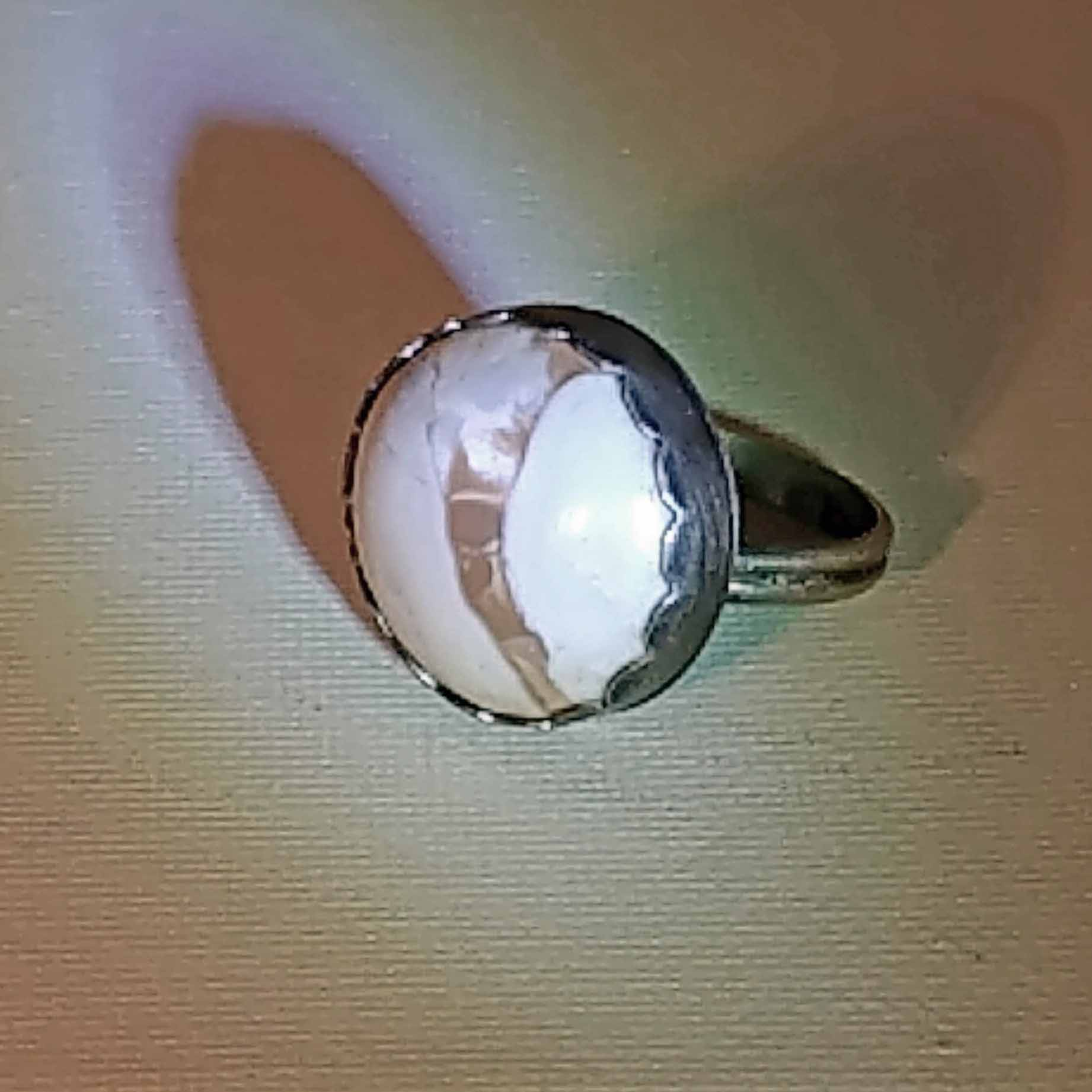 Studio-cut Owhyee Jasper Sterling Silver Ring for Men or Women - #shop_terradore#