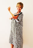 Animal Print Left Side IV Hospital Gown