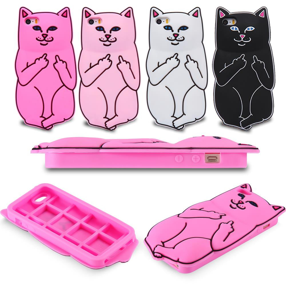 Bad Kitty iPhone case protector - Phone Fancy
