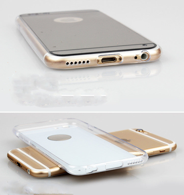 Luxury Mirror Electroplating iphone case - Phone Fancy