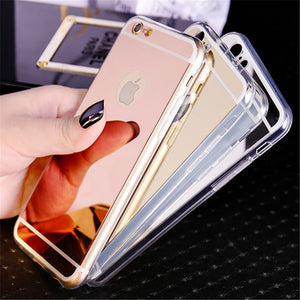 Luxury Mirror Electroplating iphone case