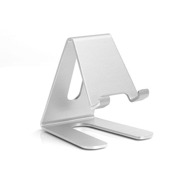 Universal Aluminum Metal Mobile Phone & Tablet Desk Holder Stand