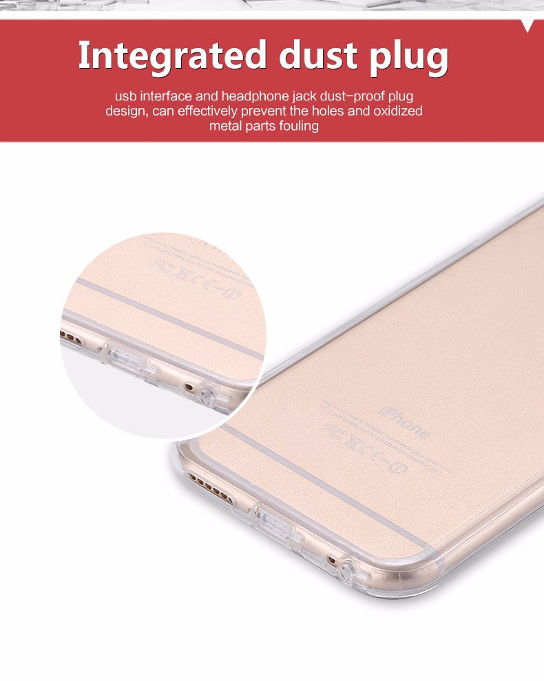 Ultra Thin Crystal Clear Case For iPhone