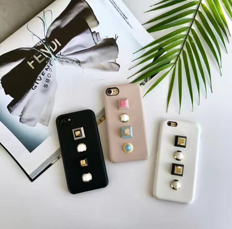 Luxury Studded Rivet Grip Phone Case