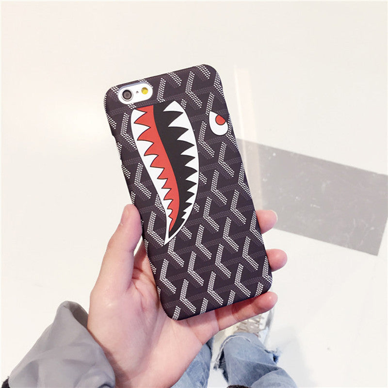 Red Shark iPhone Case