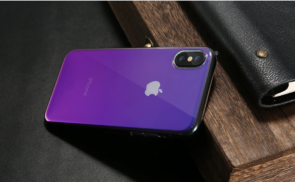 Blue Ray Slim iPhone Case Protector