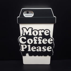 3D Coffee Phone Case