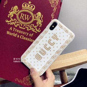 Guccy Fashion Metallic iPhone Case