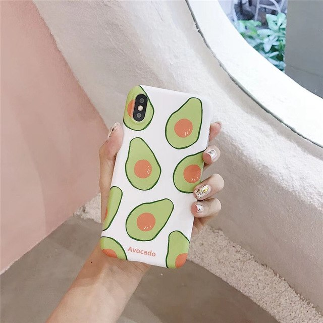 Fresh  Avocado iPhone Case