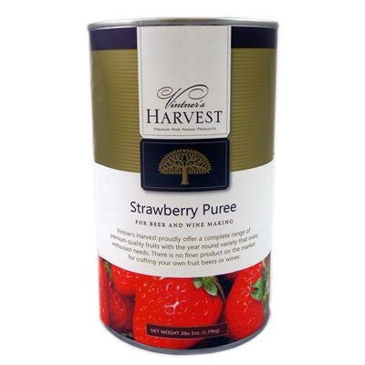 Vintner's Harvest Strawberry Puree - 49 oz can - Beyond The Grape On-Premise Winemaking & Home Brewing Supplies