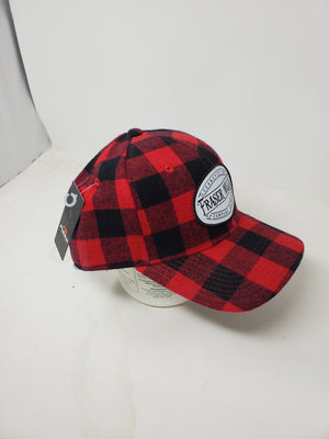 Buffalo Plaid Adjustable Ball Cap