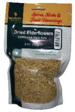 BB Dried Elder Flowers 2oz - Beyond The Grape On-Premise Winemaking & Home Brewing Supplies