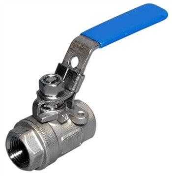 Stainless Steel 2 Piece Ball Valve - Beyond The Grape On-Premise Winemaking & Home Brewing Supplies