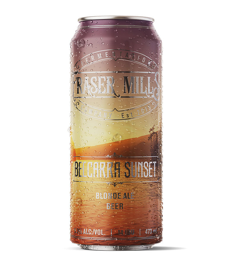 15. FMFC Belcarra Sunset Blonde Ale Cans